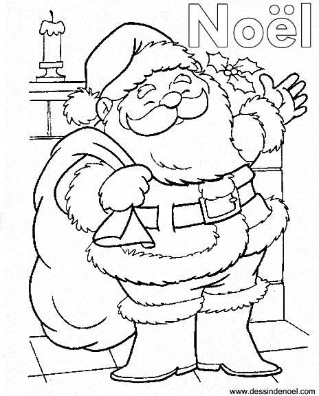 Dessin de Père Noël